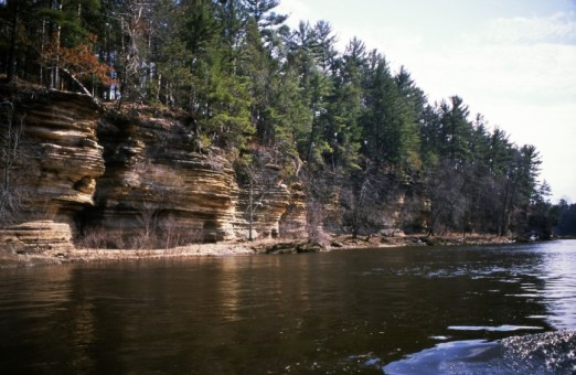 Lower Dells, And… the Duck turns into a boat!